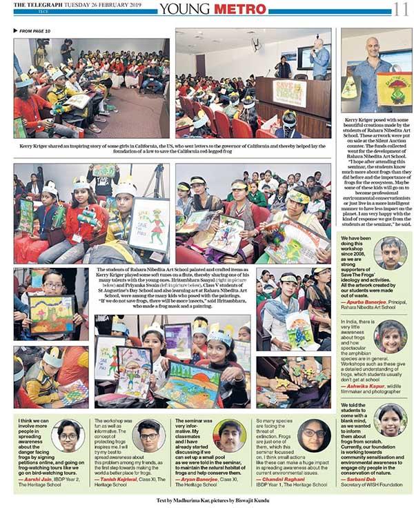 Frog news India