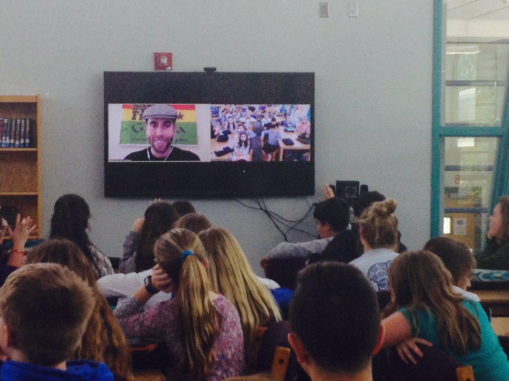 skype presentation students