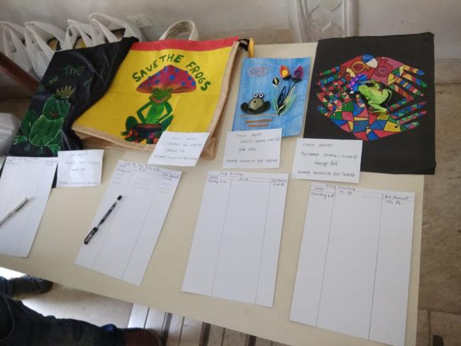 frog art world summit