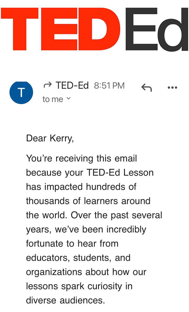 Ted Talk Kerry Kriger