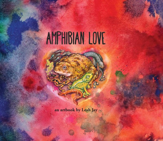 Amphibian Love Artbook by Leah Jay
