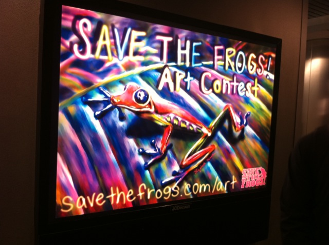 BWI Frog Art