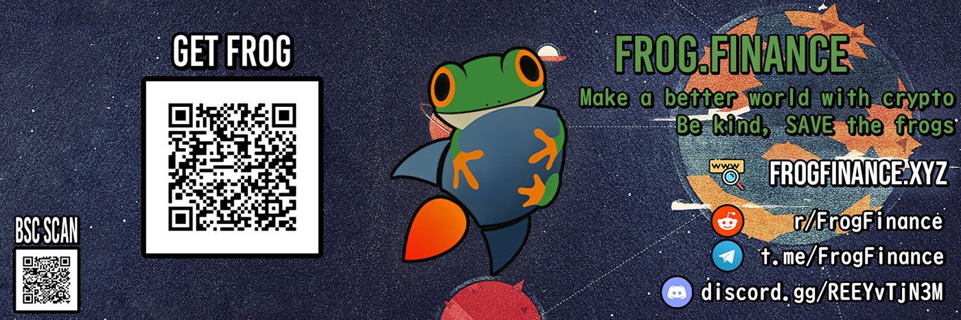 Banner - Frog Finance Crypto