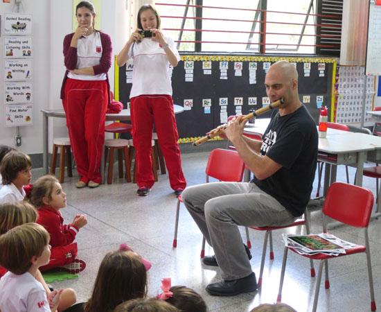 Belo Horizonte Maple Bear canadian school flute