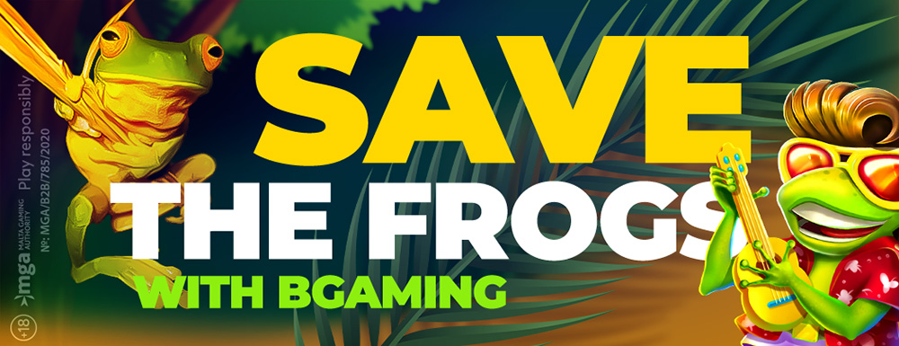 Bgaming Elvis Frog Save The Frogs
