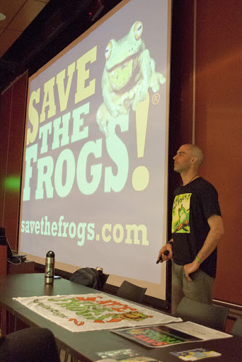 kerry kriger Bogota save the frogs