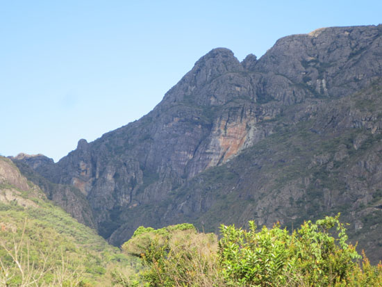 Santuario do Caraca mountains