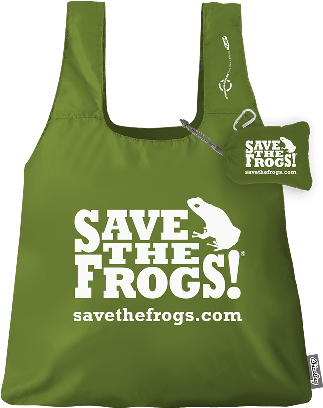Save The Frogs Tote Bag