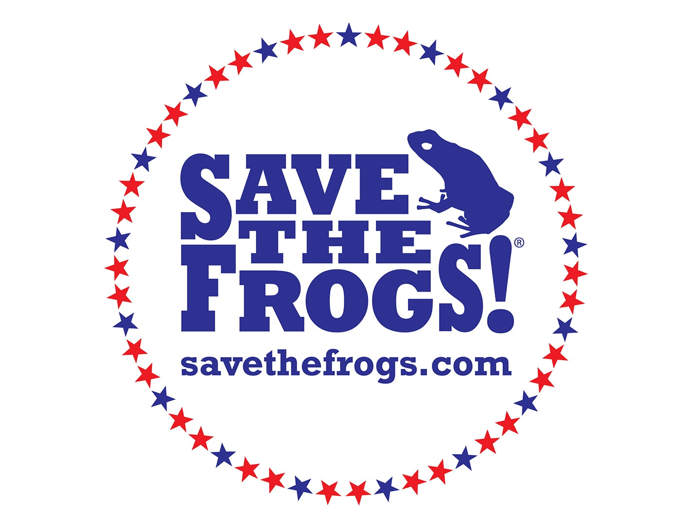 DC Save The Frogs Patriotic Logo 4th July