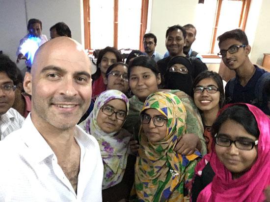 Dhaka Uni Selfie 1