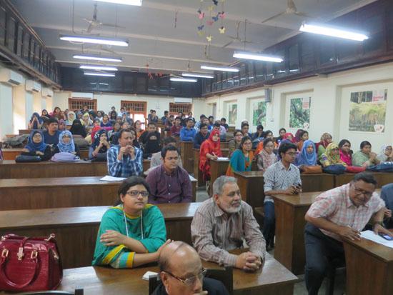 Dhaka University Attendees