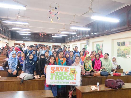 Dhaka University Group Class Flag Photo 1
