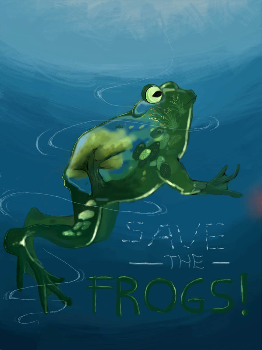 Dierdre Arkanne-Palescka-Indonesia-2020-save-the-frogs-art-contest