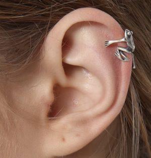 Ear Cuffs Frog Themed Jewelry