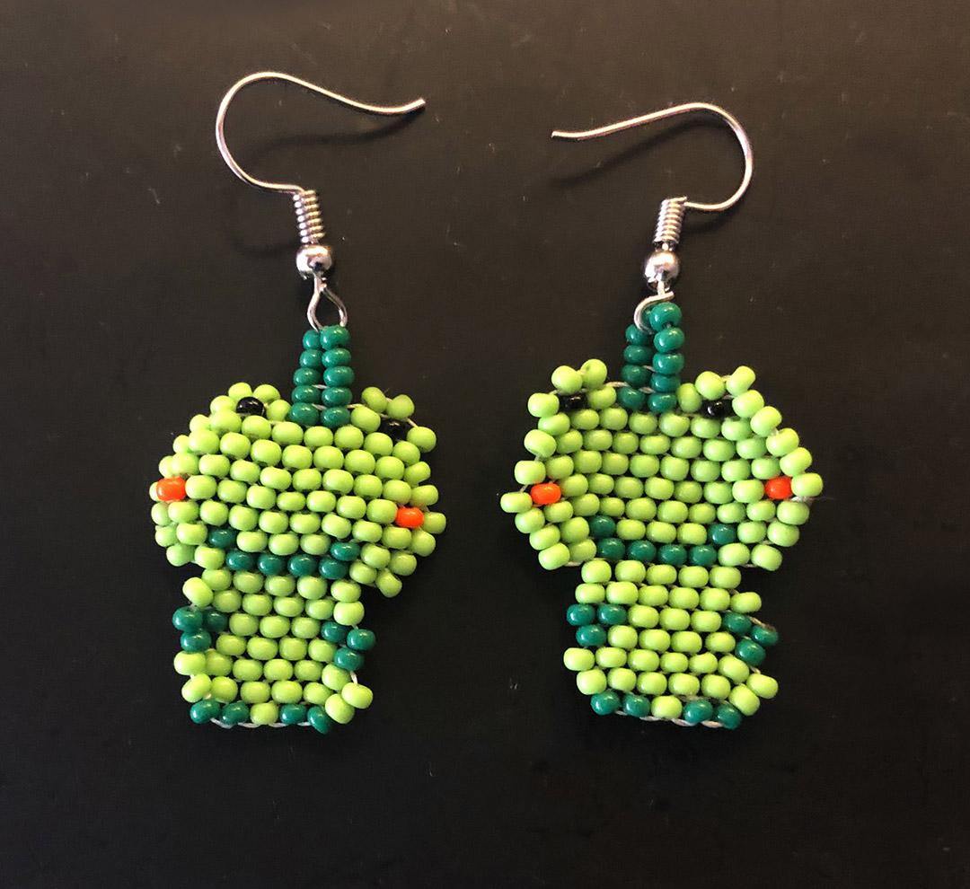 Earrings - Happy Frog