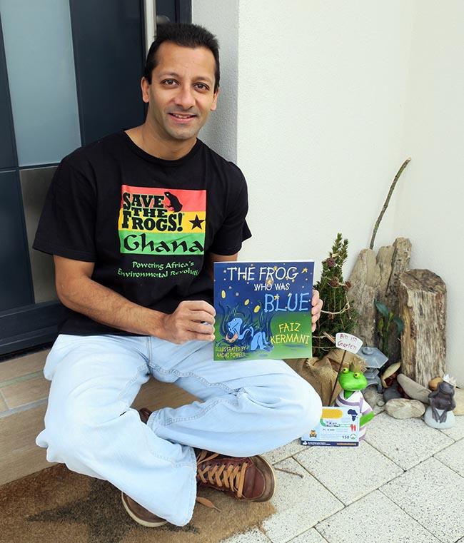 Faiz Kermani - Save The Frogs Volunteer