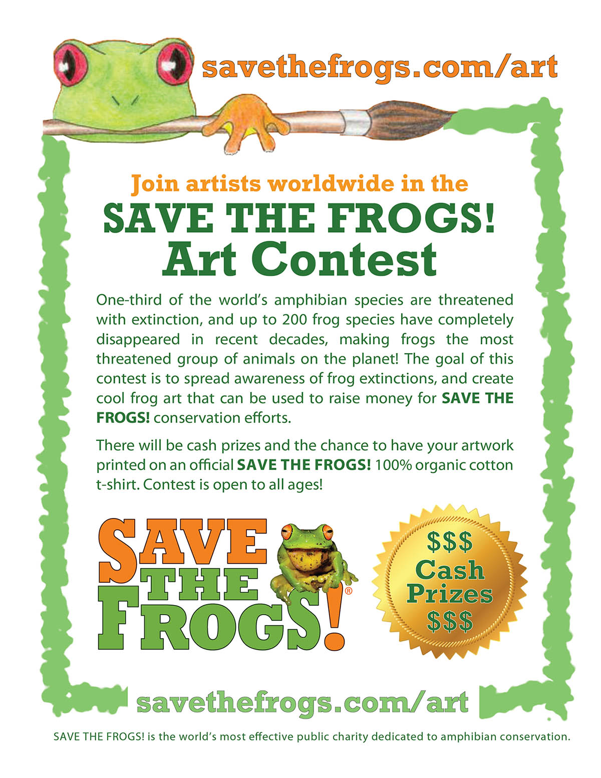 Flyer-Save-The-Frogs-Art-Contest-1200