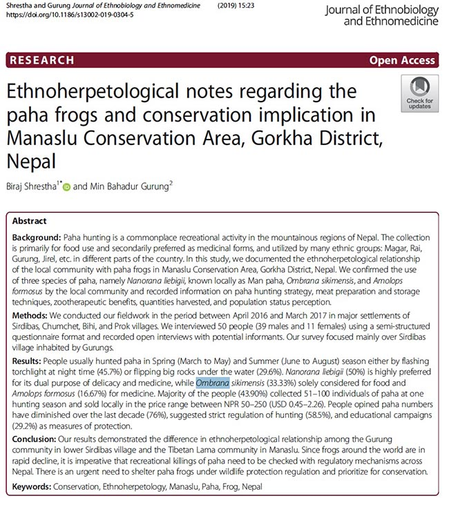 Frog-Hunting-Nepal-Publication