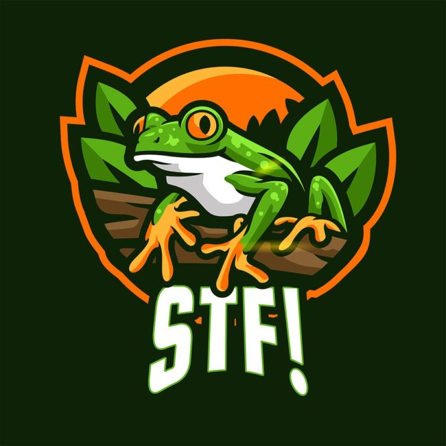 Frog Logo Save The Frogs STF