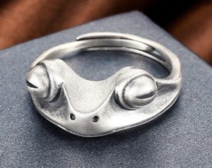 Frog Ring Jewelry