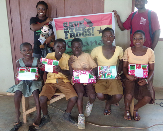 Save The Frogs Ghana Education