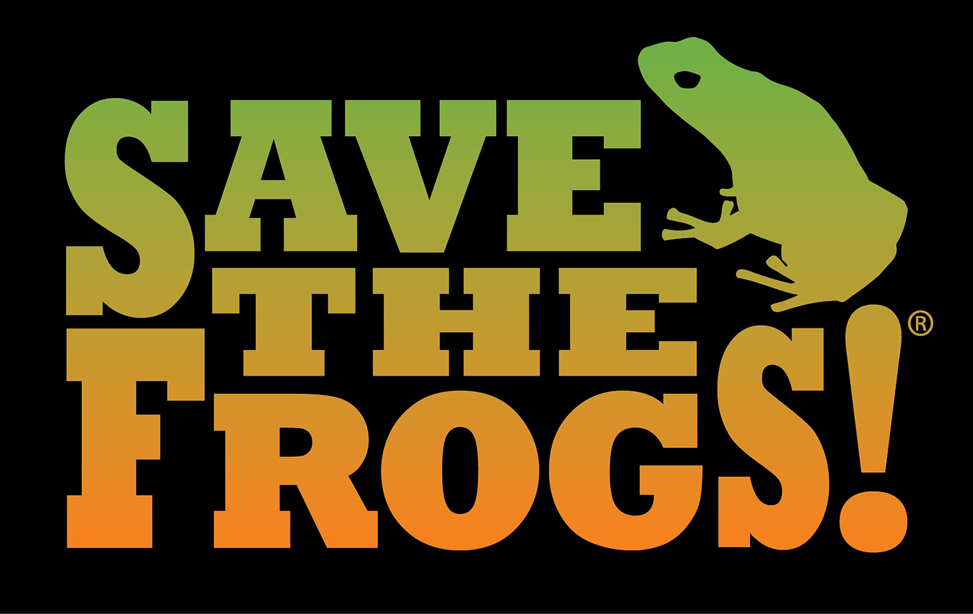 Save The Frogs Gradient Logo
