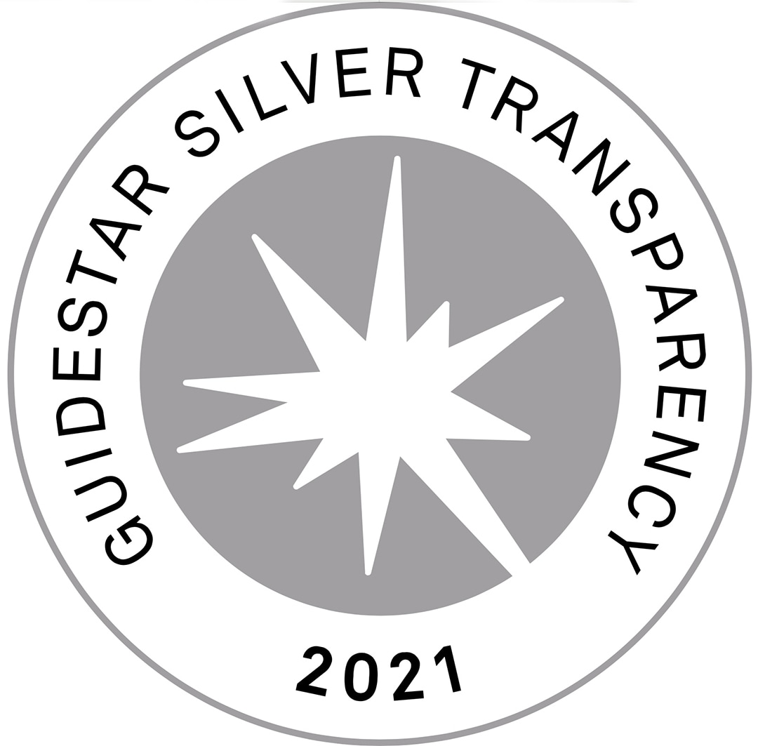 Guidestar silver 2021 seal transparency