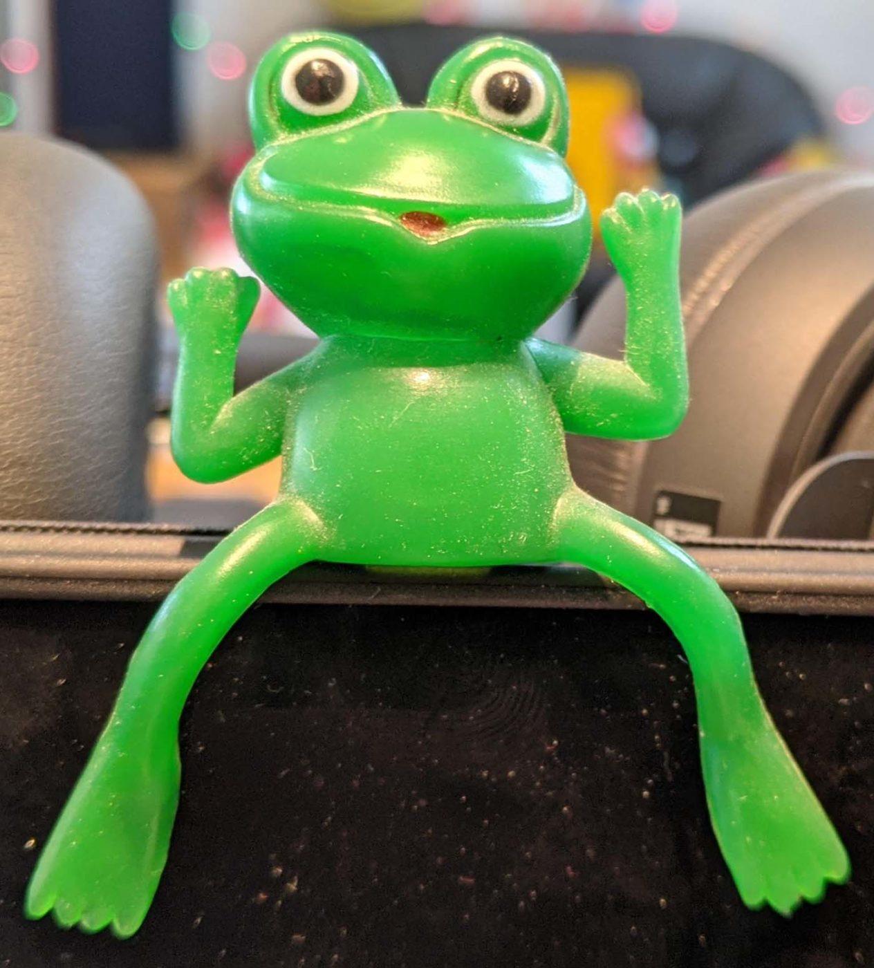 Hans Bernhardt Frog Toy