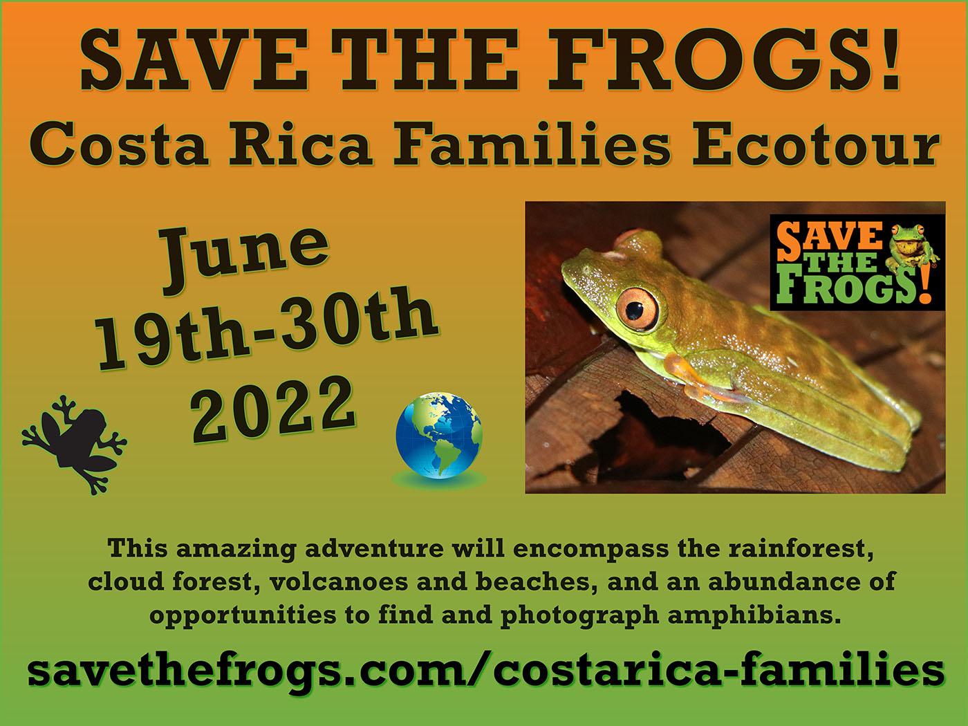 2022 Costa Rica Families Ecotour