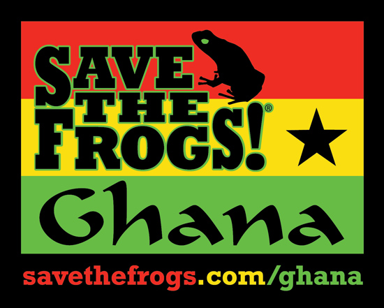 Save The Frogs Ghana Logo