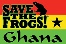 Save The Frogs Ghana Logo Small