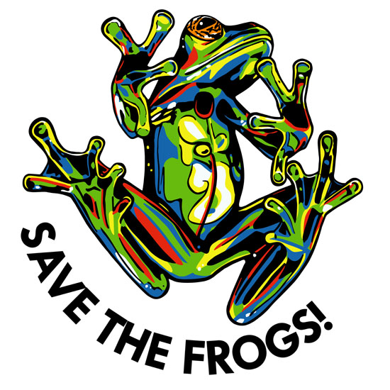 Contact save the frogs