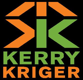 Kerry Kriger Logo - Orange and Green