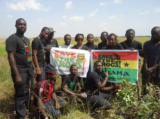 Save The Frogs Ghana Ecotour