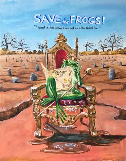 frog art contest
