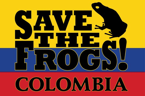 Save The Frogs Colombia Logo