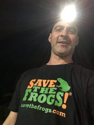 Maintain The Balance Shirt - Save The Frogs Kerry Kriger