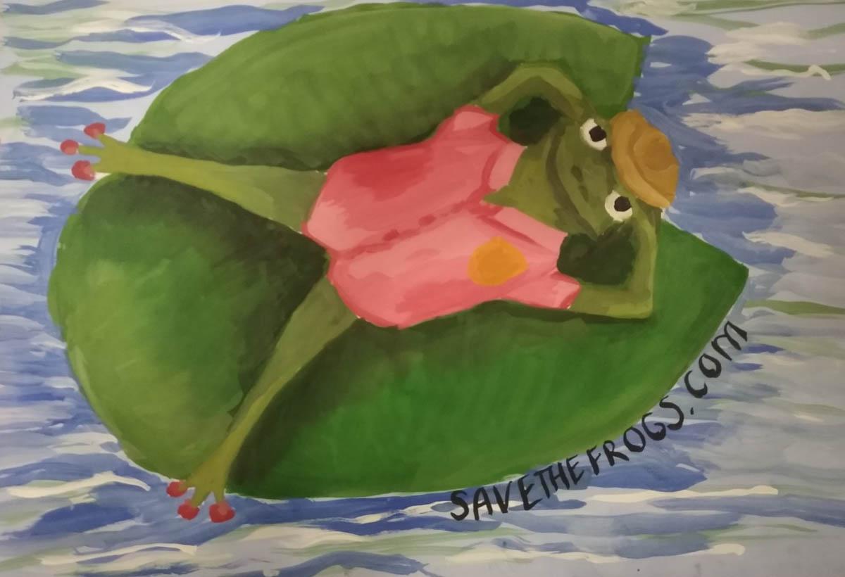 Nataliya-Salova-Ukraine -2020-save-the-frogs-art-contest