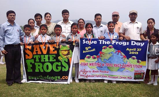 Save The Frogs Day Awards