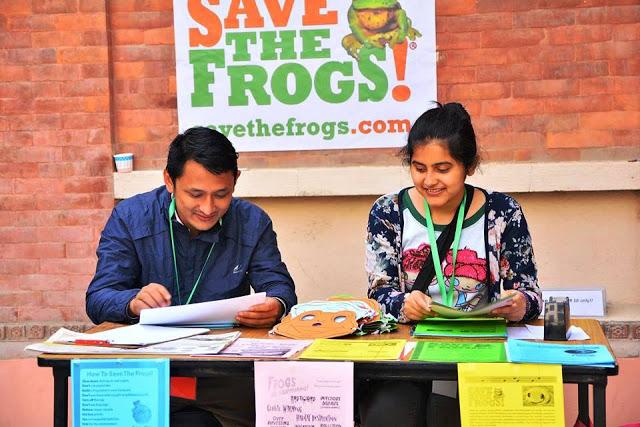 Nepal Sanepa STF Day 2017 frog tabling