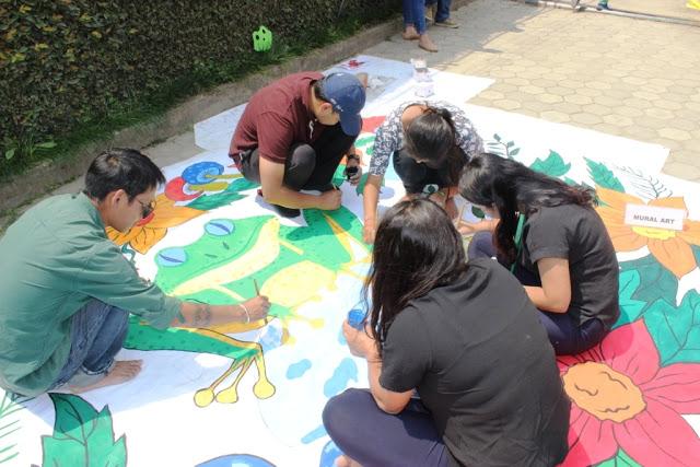 Nepal Sanepa STF Day 2017 mural3