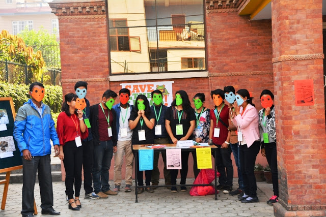 Nepal Sanepa STF Day 2017 volunteers