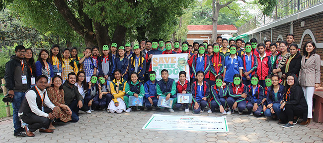 Nepal Save The Frogs Day 2019