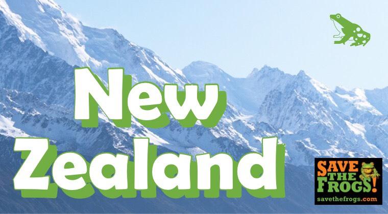 New Zealand Amphibians Cour
