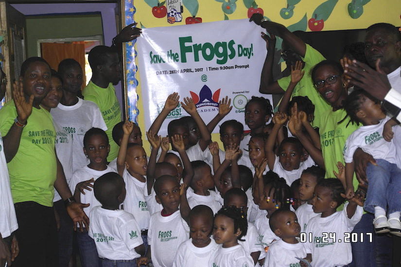 Nigeria Lagos Save The Frogs Day 2017