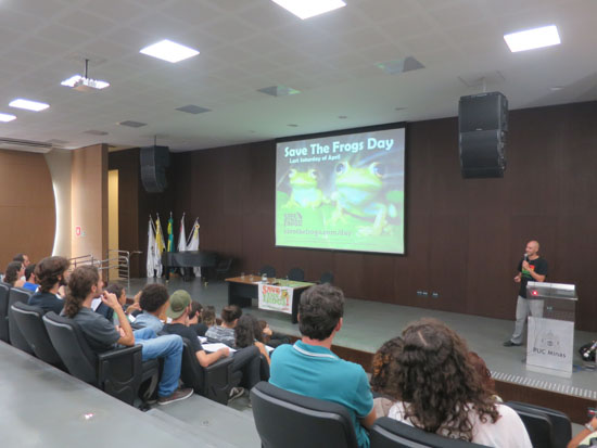 save the frogs presentation