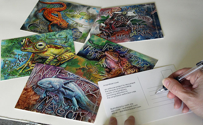 Postcards - Leah Jay Art
