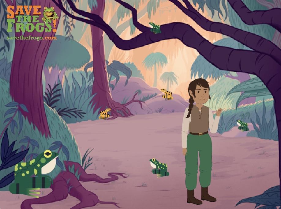 Reynel Galvis Cruz Spanish Frog Game
