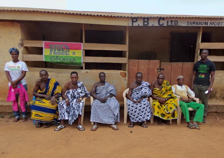 STF Ghana Sanda Nick Tribal Leaders