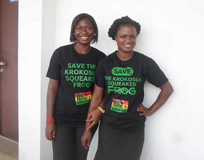 Sandra Owusu-Gyamfi and Hamdia Mahama